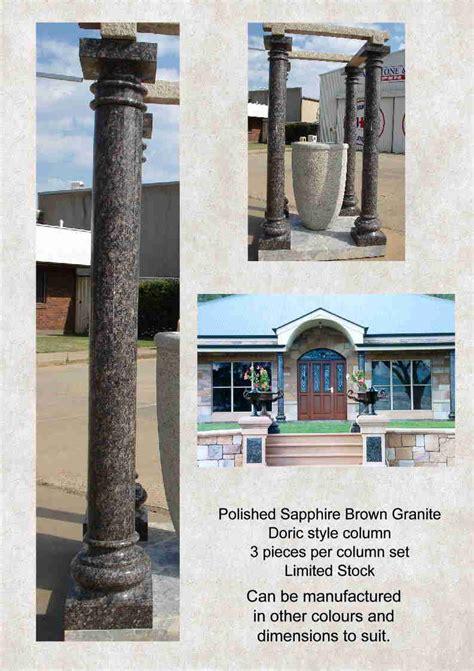 granite column doric style