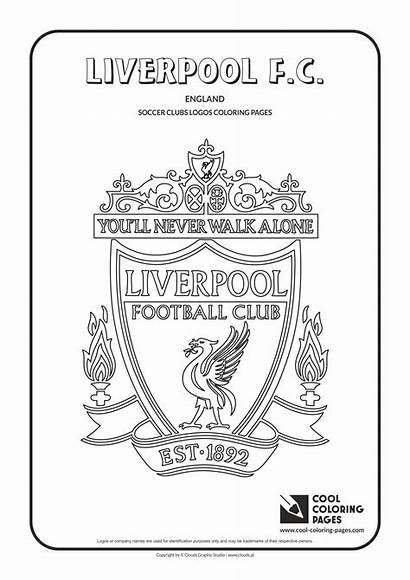 Liverpool Coloring Pages Logos Cool Soccer Colouring