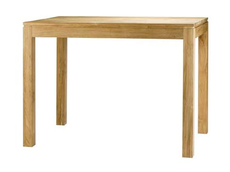 table haute bar cuisine table de bar haute bois