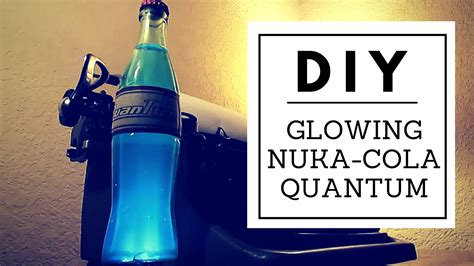 diy light up nuka cola quantum nerd builds youtube