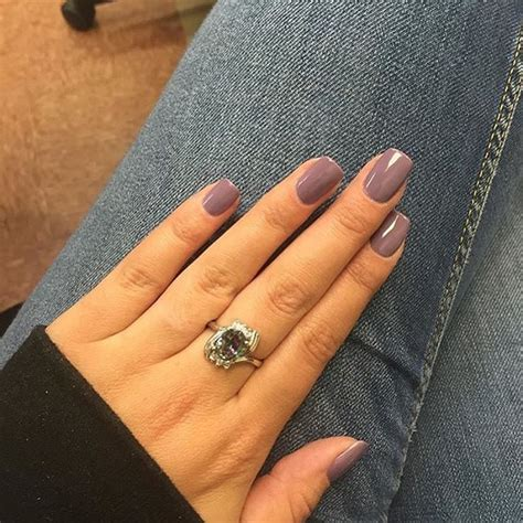 gel nail color ideas this set using dusty plum gel by nailsbydesi