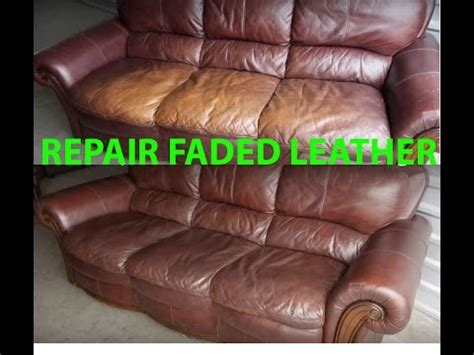 how to repair leather how to repair restore faded leather quickly easily it