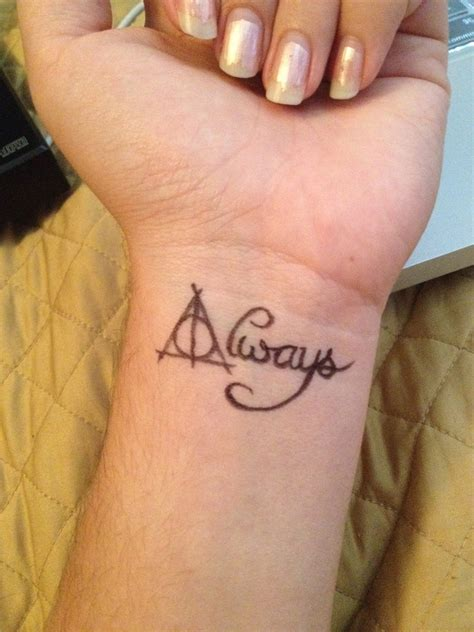 harry potter tattoo  la sirena  deviantart