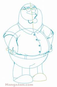 How to Draw Peter Griffin from Family Guy - Mangajam.com