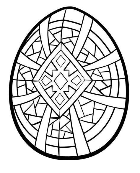 Coloring Eggs by Easter Egg Coloring Pages 360coloringpages