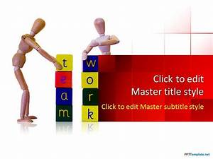free team building ppt template With team building powerpoint presentation templates