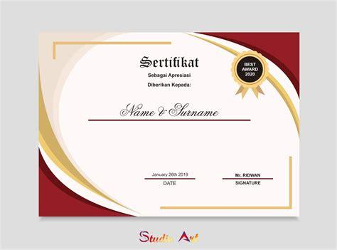background sertifikat png webstorenhicom