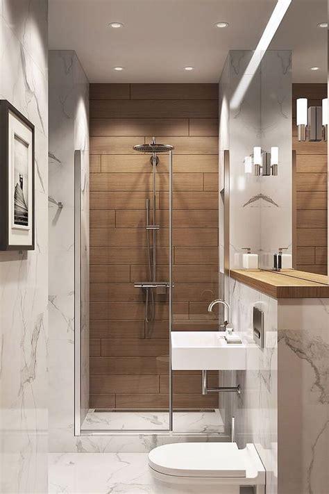 wooden tiled wall marble walls  floor bathroom