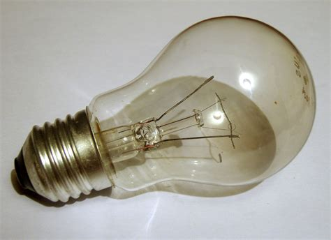 Broken Light Bulb  A Light Bulb With A Broken Filament