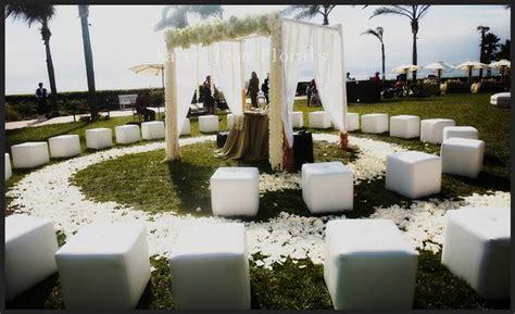 Small Wedding Ceremony Circular Seating Perfect For Skye