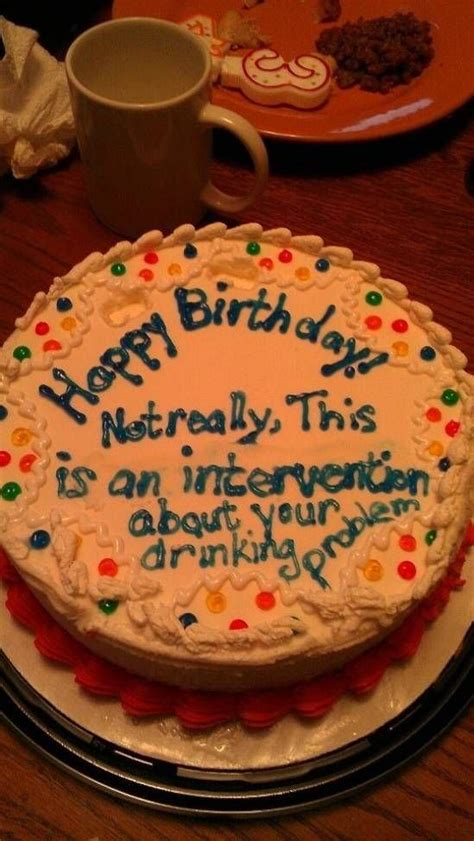 clever  funny birthday cakes
