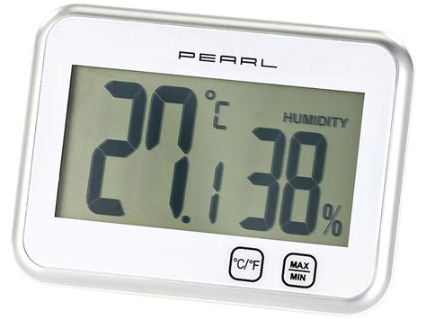 pearl raumthermometer digitales thermometer hygrometer