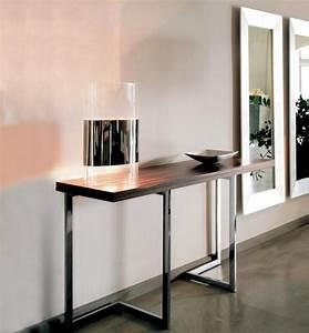 Petite Table Extensible : console extensible meuble moderne pratique et esth tique ~ Teatrodelosmanantiales.com Idées de Décoration