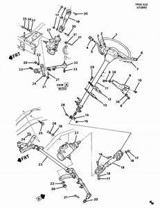 Chevrolet Tahoe Steering Column  Bolt  Screw  Flangenylon