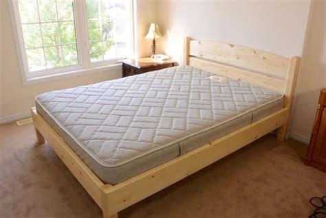 queen size bed   lumber