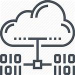 Icon Domain Icons Hosting Network Cloud Connection