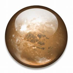 Pluto Icon | Solar System Iconset | Dan Wiersema