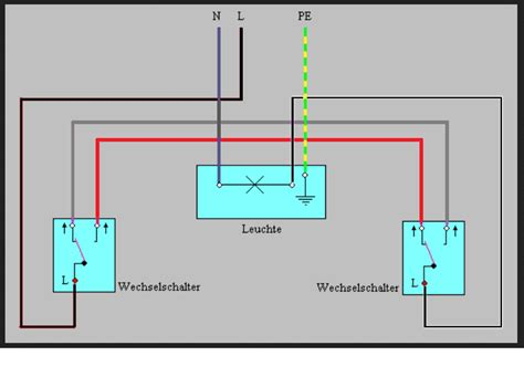 lichtschalter anschließen 3 adern ich habe 2 schalterdosen mit jeweils 3 adern wie