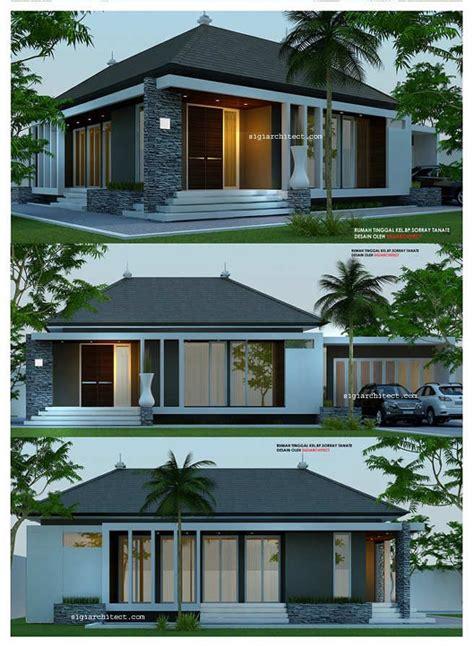 desain rumah  lantaiminimalis modern house pinterest
