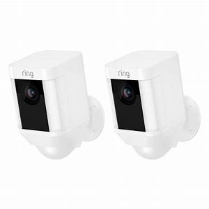 Ring Spotlight Cam Battery Outdoor Rectangle Security ...