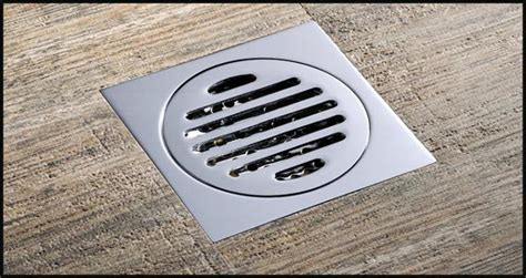 drainer square shower floor drain  removable