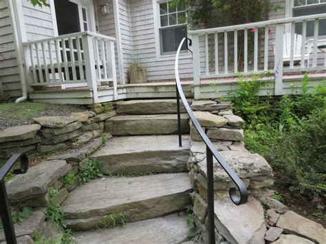 Exterior Wrought Iron Stair Railings