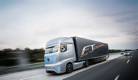 the long haul truck of the future mercedes benz