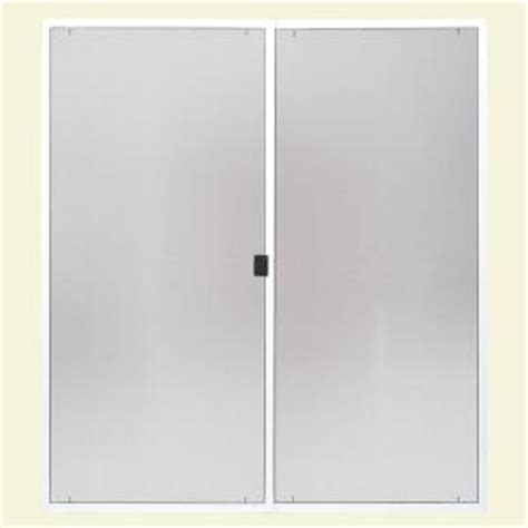 masonite 72 in x 80 in x 7 8 in replacement screen kit for patio door 23061 the home depot