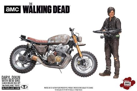 Daryl Dixon With New Bike