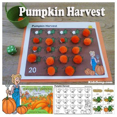 pumpkin harvest activities and kidssoup 383 | Pumpkin Harvest Activity KS 0