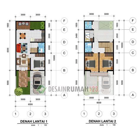 desain rumah lantai lahan dr desain rumah jakarta