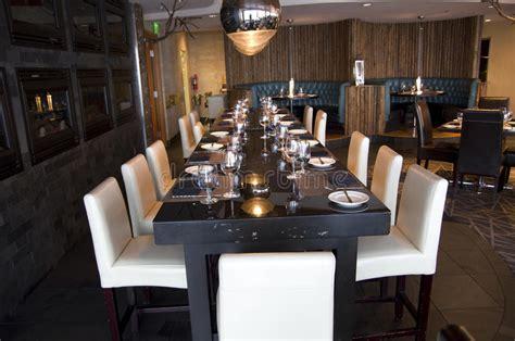 restaurante elegante de la barra imagen de archivo