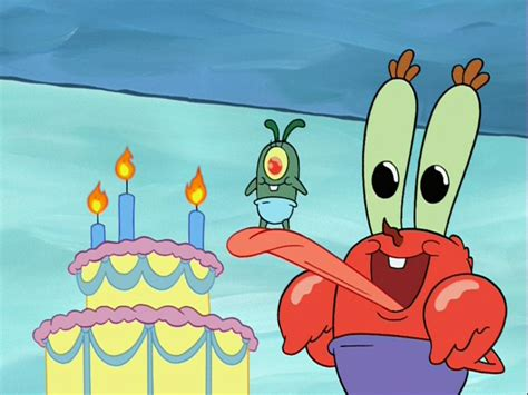 Plankton-krabs Relationship