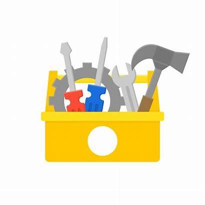 Icon Maintenance Equipment Box Tool Repair Service