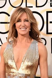 Felicity Huffman sur le tapis-rouge des Golden Globes 2017 ...