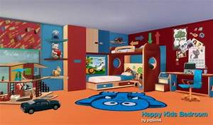 PQSims4Happy Kids bedroom • Sims 4 Downloads