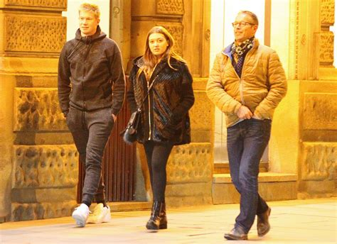 Kevin De Bruyne and pregnant girlfriend Michele Lacroix ...