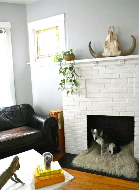 creative ideas  decorating   working fireplace