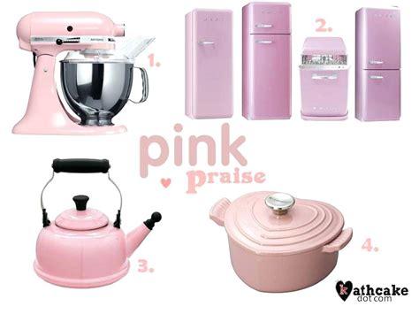 Pink Kitchen Appliances Interior  Habanasalamedacom
