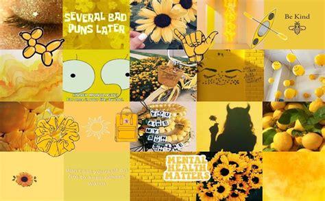 yellow aesthetic laptop wallpapers