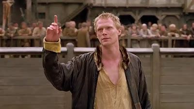 paul bettany chaucer   knights tale love