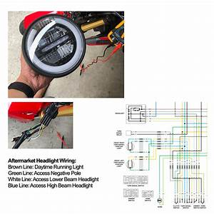 Help  Aftermarket Headlight Led Wiring For Sf Grom 2017   Hondagrom