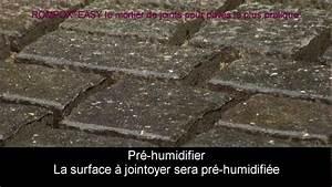 Pose De Pavé Sur Mortier : le mortier de joints pour pav s le plus pratique youtube ~ Dode.kayakingforconservation.com Idées de Décoration