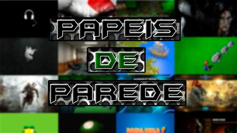 pack de papeis de parede gamer wallpapers games youtube