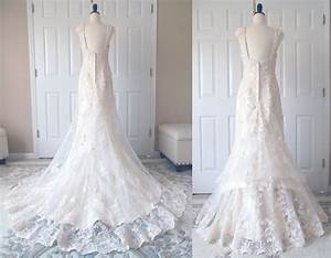 austrian bustle for a lace dress With how to make a bustle on a wedding dress