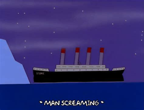 Sinking Boat Gif by Episode 9 Ship Sinking Gif Find On Giphy