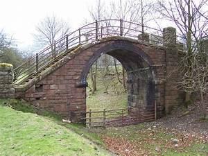 Dismantled Railway Foot Bridge © Joe Regan :: Geograph ...