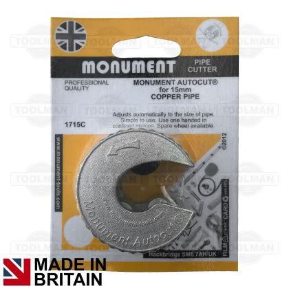 Monument Autocut 15mm Pipe Slice  Pipe Cutter