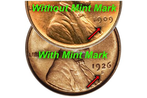 mint mark  lincoln pennies