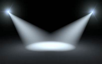 Spotlight Stage Background Clip Clipart Lights Backgrounds